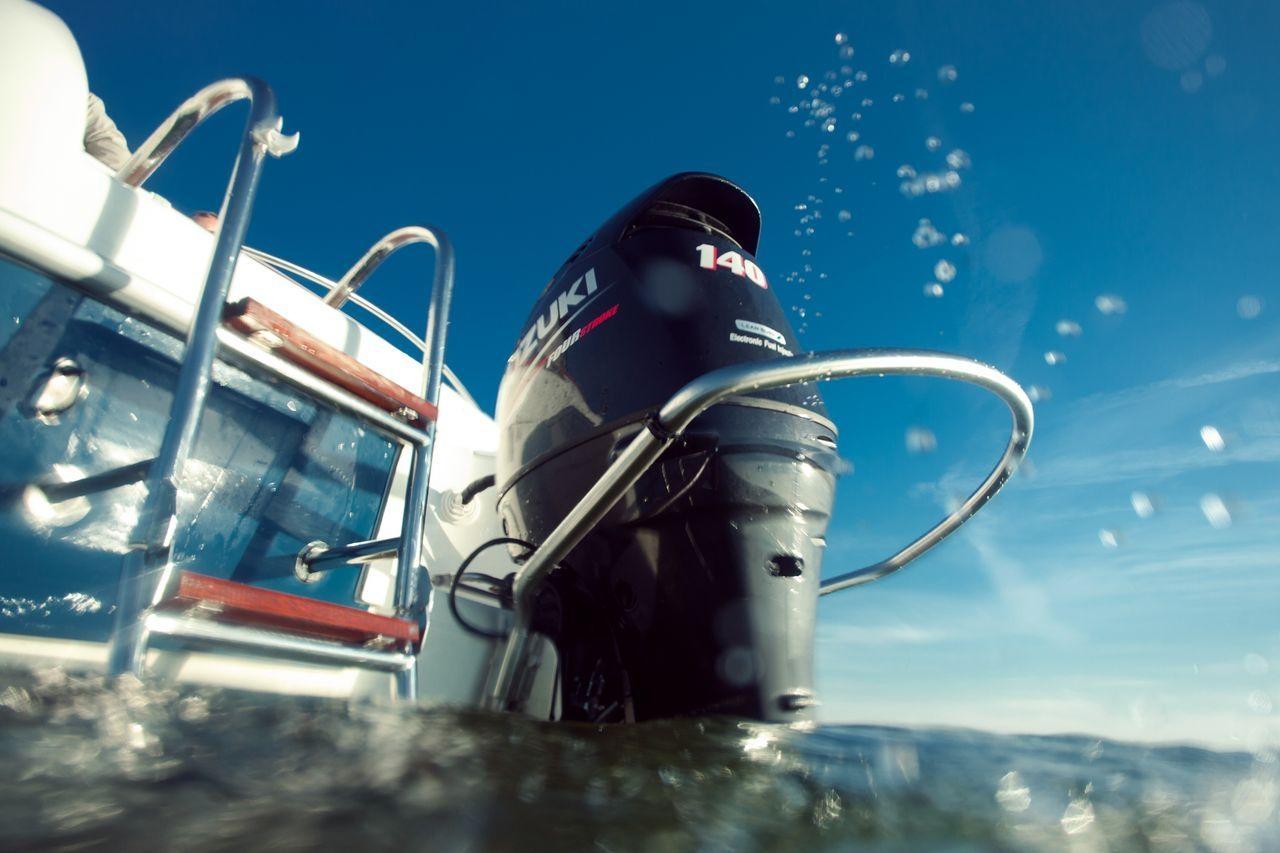 turboswing on outboard motor