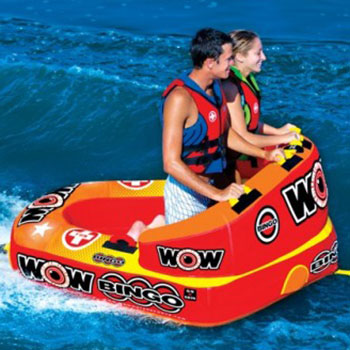 2 rider wow tube