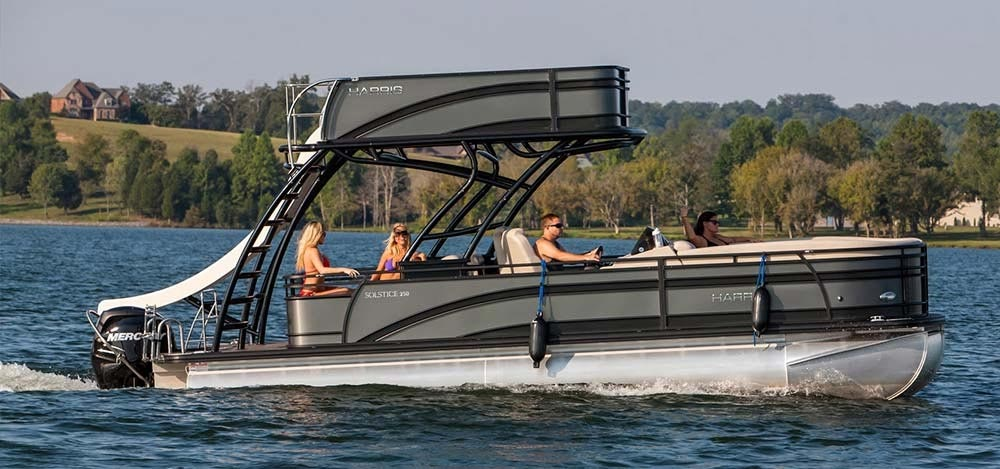 pontoon ski tow bar