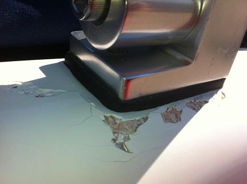 spider cracks in fiberglass