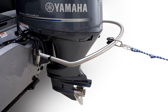 turboswing and pulley on outboard motor