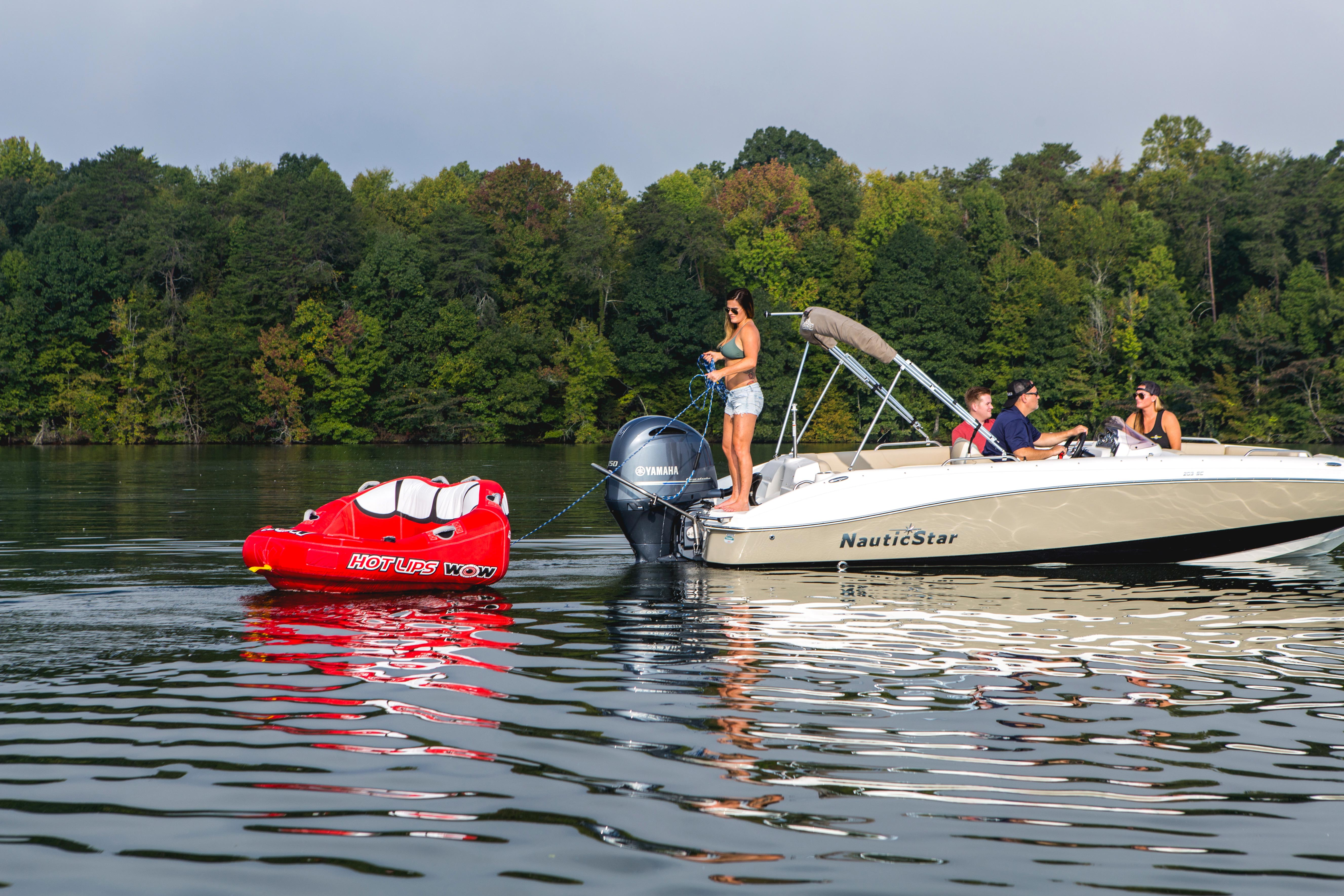 Turboswing Ski Tow Bar For Outboards Pull Tubes Wakeboards And More